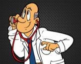 Dibujo Médico pintado por Socovos