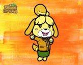 Dibujo Animal Crossing: Canela pintado por ZluliiDz