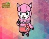 Dibujo Animal Crossing: Paca pintado por ZluliiDz