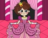 Princesa en el baile