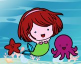 Sirenita chibi