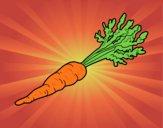 Dibujo Zanahoria ecológica pintado por SC15
