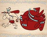 Caza de elefante