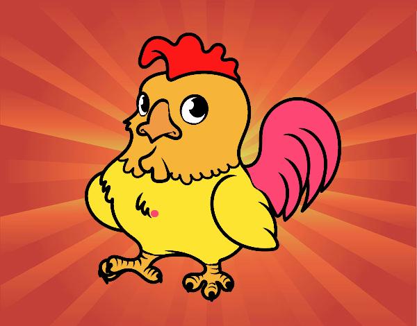 Dibujos Gallos Para Colorear: Dibujos De Gallos Mejor Valorados Para Colorear Dibujos Net