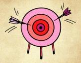 Dibujo Juego de dardos pintado por Lorelai