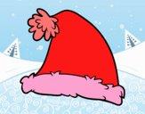 Dibujo Un gorro de Santa Claus pintado por Lorelai