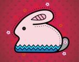 Conejito de Pascua lateral