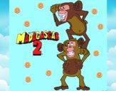 Madagascar 2 Manson y Phil