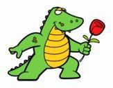 Dragón enamorado