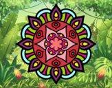 Mandala vida vegetal