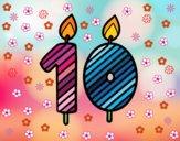 10 años