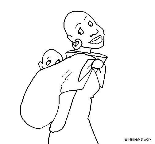 Paesaggi besides Desenhos De M C3 A1scaras Para Colorir together with Gato Salvaje Africano also Black History People Coloring Pages also Africana Con Panuelo Portabebe. on africa coloring pages o