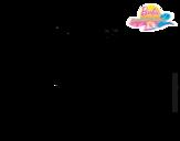 Dibujo de Amiga mala para colorear