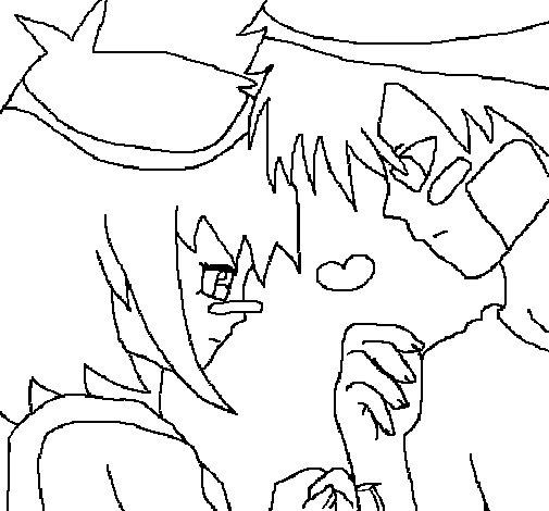 Dibujo de Amor III para Colorear