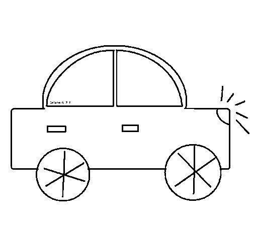 Dibujo de Automóvil para Colorear