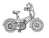 Dibujo de Bicicleta para niños para colorear