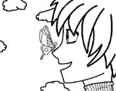 Dibujo de Butterfly