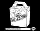 Dibujo de Caja Diverking para colorear