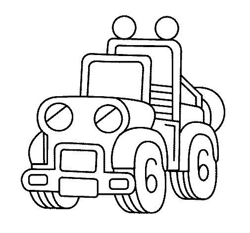 Dibujo de Camión para Colorear