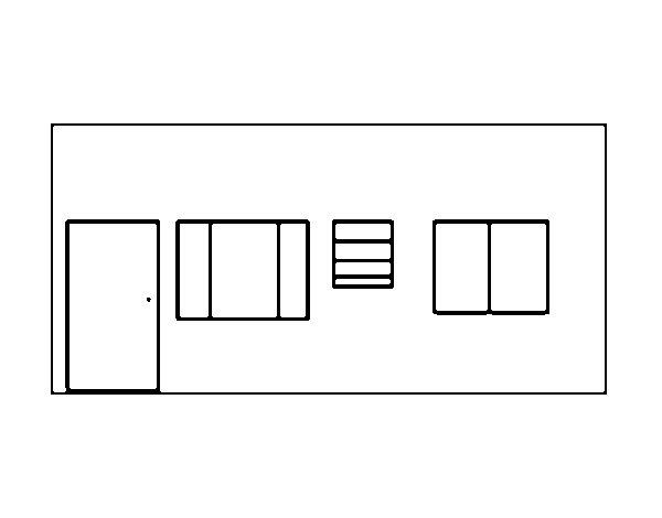 Dibujo de Casa sin techo para Colorear  Dibujosnet