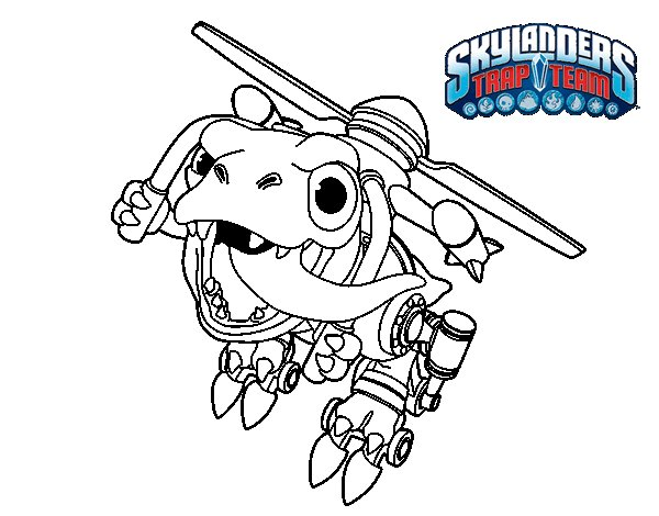 Dibujo de Chopper para Colorear
