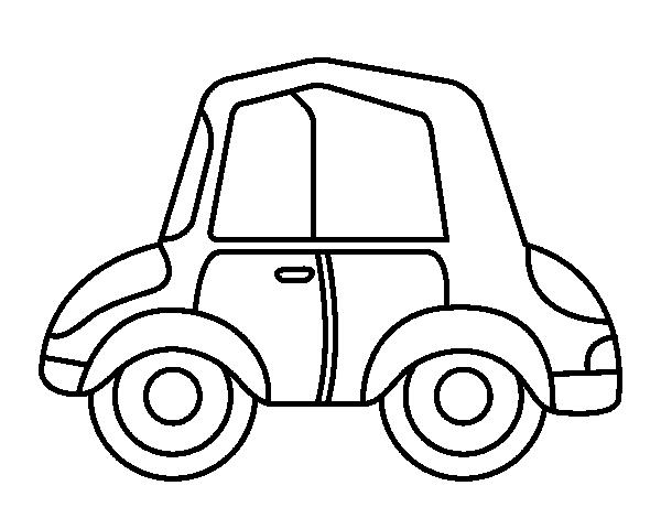Dibujo De Autos Tuning Para Colorear En Tu Tiempo Libre Dibujos 5: Dibujo De Un Coche Para Colorear. Elegant Dibujo De Coche