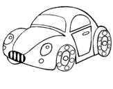 Dibujo de Coche de juguete para colorear
