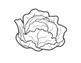 Dibujo de Col ecológica para colorear