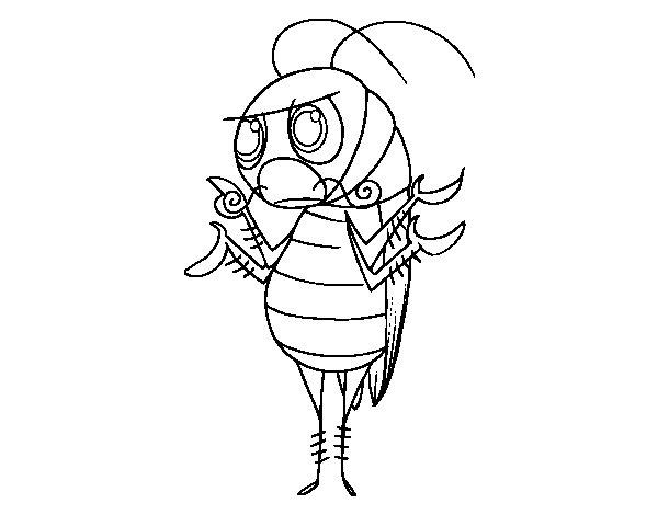 Dibujo de Cucaracha común para Colorear