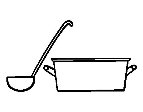 Utensilios de cocina para pintar top dibujo de cocina for Utensilios de cocina para pintar