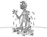 Dibujo de Dagon para colorear