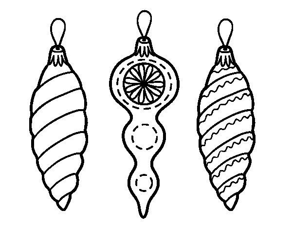 Dibujos Para Colorear Arboles Navidenos: Dibujo De Decoraciones De Navidad árbol De Navidad Para