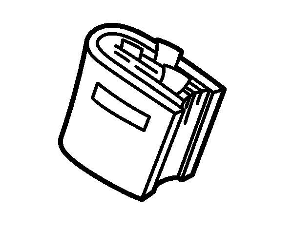 Dibujo de Diccionario 2 para Colorear