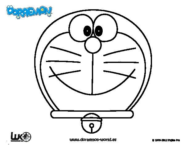 Dibujo de Doraemon, el gato cósmico para Colorear