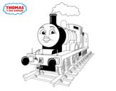 Dibujo de Edward en marcha para colorear