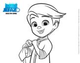 Dibujo de El Bebé Jefazo, Tim Templeton para colorear