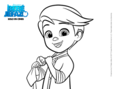 Dibujo de El Bebé Jefazo, Tim Templeton