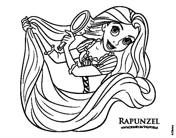 Dibujos Para Colorear De Rapunzel Bebe: Fotos De Rapunzel Para Colorear
