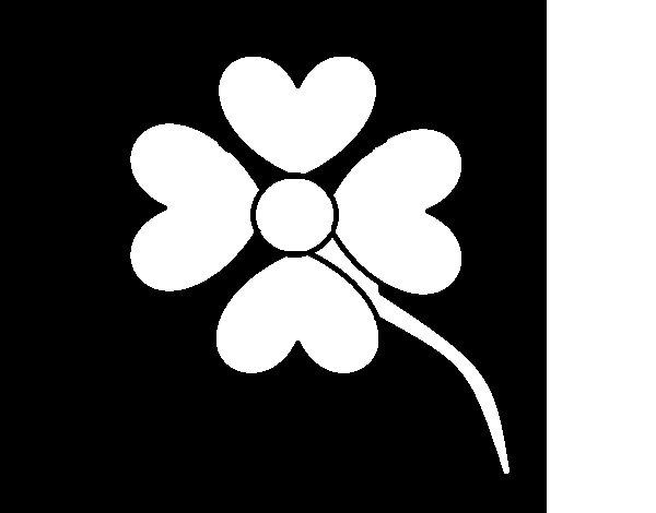 Imagenes De Flores Para Colorear Bonitas: Dibujo De Flor Bonita Para Colorear