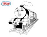 Dibujo de Gordon en marcha