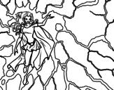 Dibujo de Heroína Tormenta para colorear