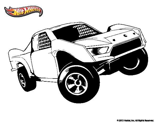 Dibujo de Hot Wheels Ford para Colorear  Dibujosnet