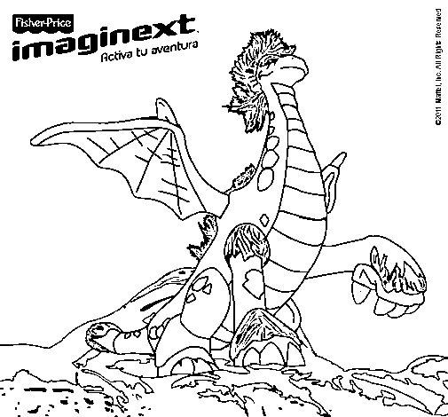 Dibujo de Imaginext 9 para Colorear