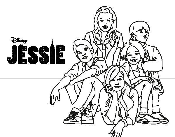 Dibujos Para Pintar Disney Channel: Disney Channel Para Colorear