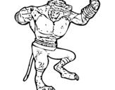 Dibujo de Khan para colorear