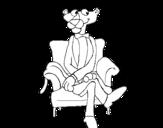Dibujo de La Pantera Rosa