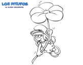 Dibujo de La Pitufina