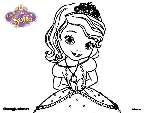 Dibujo De La Princesa Sofia Para Colorear