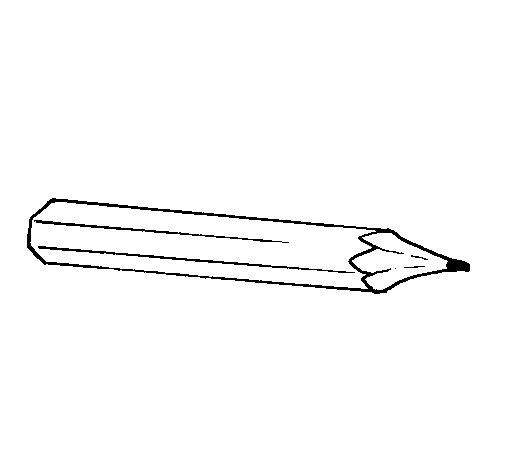 Dibujo de Lápiz 1 para Colorear