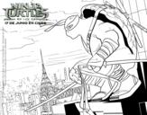 Dibujo de Leonardo de Ninja Turtles